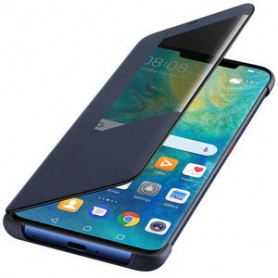 ETUI SMART VIEW FLIP COVER BLEU POUR MATE 20 PRO - ORIGINE HUAWEI