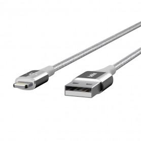 CABLE LIGHTNING VERS USB MIXIT™ DURATEK™ ARGENT - BELKIN