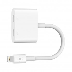 ADAPTATEUR LIGHTNING ROCKSTAR™ AUDIO + CHARGE - BELKIN