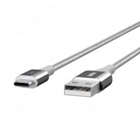 CABLE TYPE-C VERS USB MIXIT™ DURATEK™ ARGENT - BELKIN