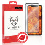 VERRE TREMPE 3D FULL GLUE RESISTANCE ULTIME + APPLICATEUR POUR APPLE IPHONE X / XS - VITHERUM