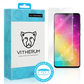VERRE TREMPE 3D FIXATION ULTRA VIOLET POUR HUAWEI MATE 20 - VITHERUM