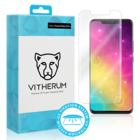 VERRE TREMPE 3D FIXATION ULTRA VIOLET POUR HUAWEI MATE 20 PRO - VITHERUM