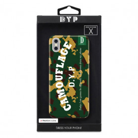 COQUE CAMOUFLAGE COMPATIBLE APPLE IPHONE X DYP