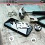 COQUE RENFORCEE MAGNETIQUE NOIRE + VERRE TREMPE 3D FULL GLUE POUR APPLE IPHONE X / XS - VITHERUM