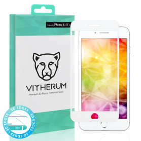 VERRE TREMPE 3D FULL GLUE + APPLICATEUR POUR APPLE IPHONE 7+ / 8+ - VITHERUM