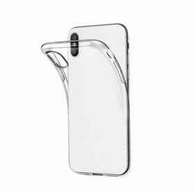 COQUE SOUPLE TRANSPARENTE COMPATIBLE SAMSUNG GALAXY A6 2018 BULK