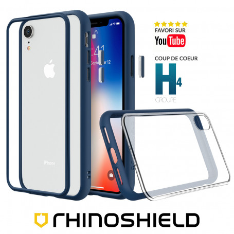 COQUE MODULAIRE MOD NX™ BLEUE POUR APPLE IPHONE XR- RHINOSHIELD™