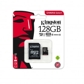 CARTE MEMOIRE MICRO SDXC CLASS 10 - 128GB - KINGSTON