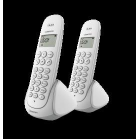 TELEPHONE DECT AURA250 2 POSTES BLANCS - LOGICOM