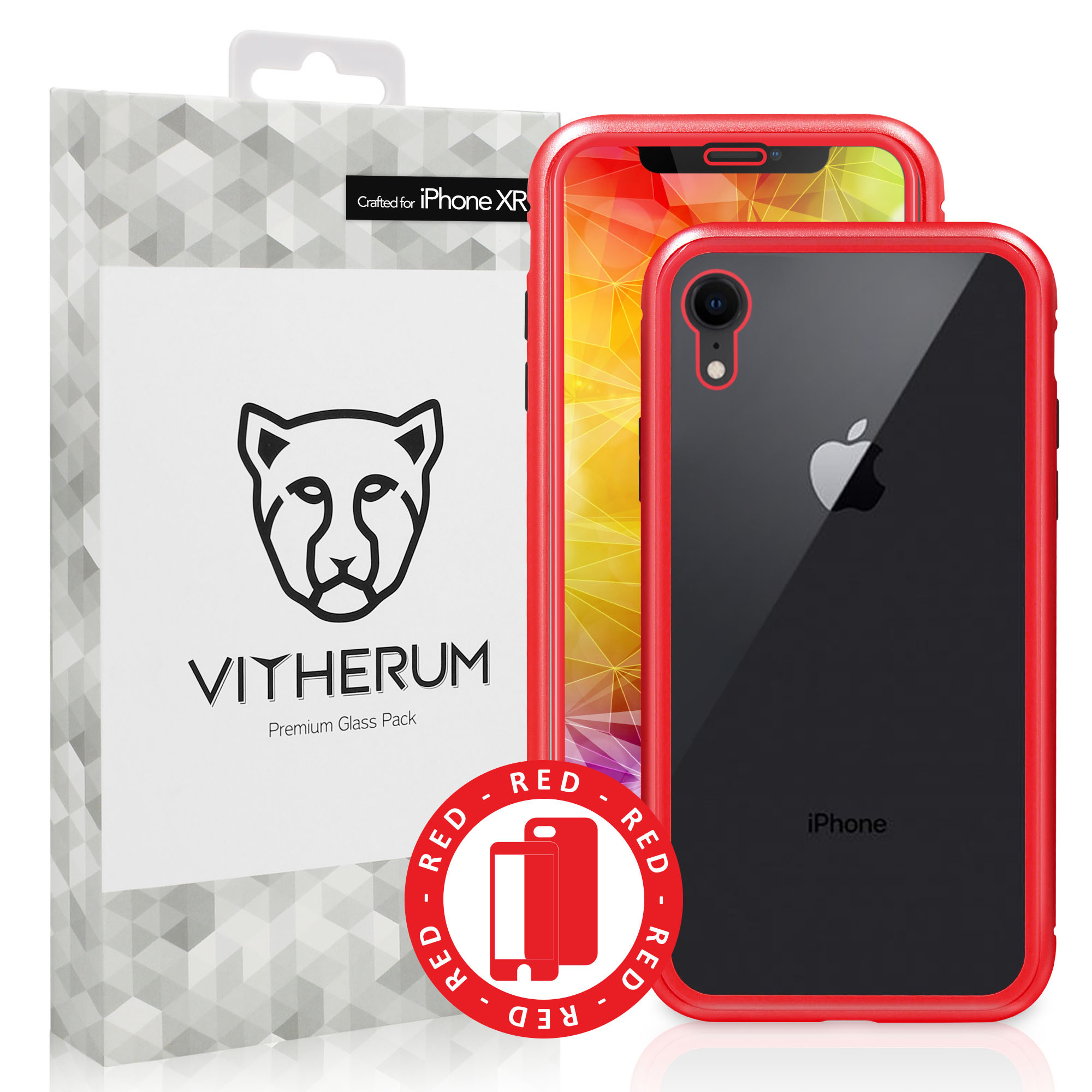 coque rouge apple iphone xr