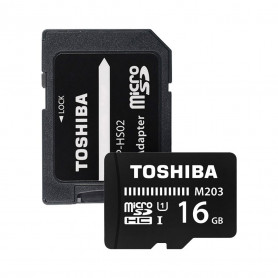 CARTE MEMOIRE MICRO SDHC 16GB - TOSHIBA