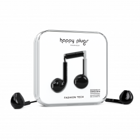 ECOUTEURS FILAIRES EARBUDS PLUS NOIRS - HAPPY PLUGS®