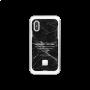COQUE HAPPY MARBRE NOIR POUR IPHONE XS MAX - HAPPY PLUGS®