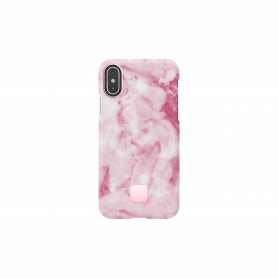 COQUE HAPPY MARBRE ROSE POUR IPHONE X / XS - HAPPY PLUGS®