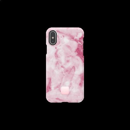 COQUE HAPPY MARBRE ROSE POUR IPHONE XS MAX - HAPPY PLUGS®