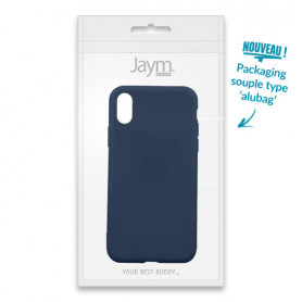 COQUE SOUPLE BLEUE MATE COMPATIBLE SAMSUNG GALAXY A20E