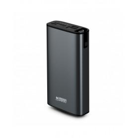 BATTERIE DE SECOURS 10 050 MAH USB-A / USB-C NOIRE - URBAN FACTORY®