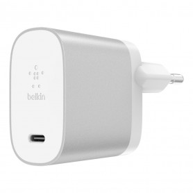 CHARGEUR SECTEUR POWER DELIVERY 27W USB-C METALLIC - BELKIN