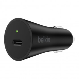 CHARGEUR VOITURE 27W POWER DELIVERY USB-C NOIR - BELKIN