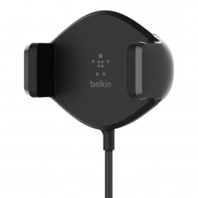 SUPPORT VOITURE GRILLE CHARGEUR INDUCTION 10W QI™ NOIR - BELKIN