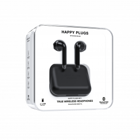 ECOUTEURS TRUE WIRELESS AIR 1 NOIRS - HAPPY PLUGS®