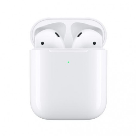 ECOUTEURS APPLE AIRPODS 2 SANS FIL + BOITIER INDUCTION ORIGINE APPLE FRANCE
