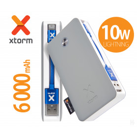BATTERIE DE SECOURS XB2 SERIES - TRAVEL 6 000mAH 10W LIGHTNING - XTORM®