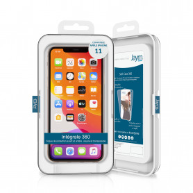 COQUE SOUPLE 360 JAYM COMPATIBLE APPLE IPHONE 11