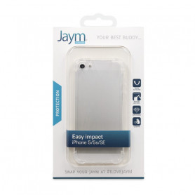 COQUE RENFORCEE TRANSPARENTE JAYM COMPATIBLE APPLE IPHONE 5 / 5S / SE