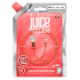 CABLE 1M CHARGE & SYNCHRO USB VERS LIGHTNING MFI - CORAIL - JUICE®
