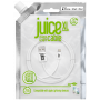 CABLE 2M CHARGE & SYNCHRO USB VERS LIGHTNING MFI - BLANC - JUICE®