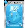 CABLE 2M CHARGE & SYNCHRO USB VERS LIGHTNING MFI - BLEU - JUICE®