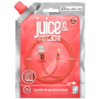 CABLE 2M CHARGE & SYNCHRO USB VERS LIGHTNING MFI - CORAIL - JUICE®