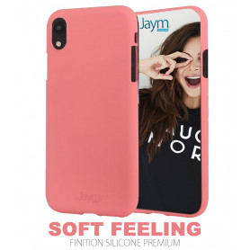 COQUE PREMIUM SOFT FEELING COMPATIBLE APPLE IPHONE XR ROSE