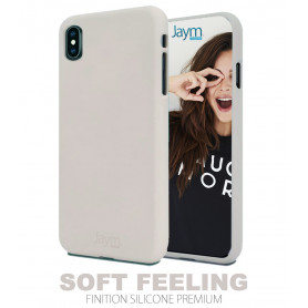 COQUE PREMIUM SOFT FEELING COMPATIBLE APPLE IPHONE 7+ / 8+ BEIGE
