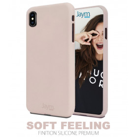 COQUE PREMIUM SOFT FEELING COMPATIBLE SAMSUNG GALAXY A40 ROSE SABLE