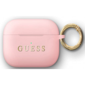 ETUI SILICONE ROSE SABLE GUESS POUR APPLE AIRPODS PRO - GUESS®