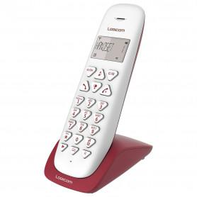 TELEPHONE DECT VEGA150 1 POSTE FRAMBOISE - LOGICOM