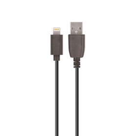 CABLE USB VERS LIGHTNING 1M NOIR
