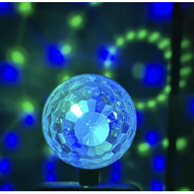 BOULE DISCO LUMINEUSE MULTICOLORE - MICRO USB