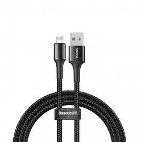CABLE TRESSÉ USB VERS LIGHTNING NOIR 3M - BASEUS