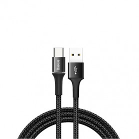 CABLE TRESSÉ USB VERS TYPE-C NOIR 1M - BASEUS