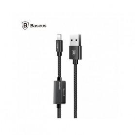 CABLE USB 2-EN-1 ENTRÉE ET SORTIE CONNECTEUR LIGHTNING - BASEUS