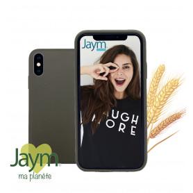 COQUE ECO-FRIENDLY VERTE POUR APPLE IPHONE X / XS - JAYM®