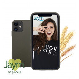 COQUE ECO-FRIENDLY KAKI POUR APPLE IPHONE 11 - JAYM®