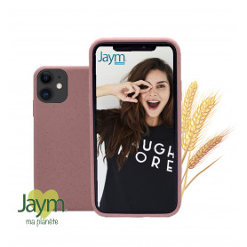 COQUE ECO-FRIENDLY ROSE POUR APPLE IPHONE 11 - JAYM®