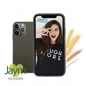COQUE ECO-FRIENDLY KAKI POUR APPLE IPHONE 11 PRO MAX - JAYM®