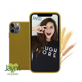COQUE ECO-FRIENDLY JAUNE POUR APPLE IPHONE 11 PRO MAX - JAYM®