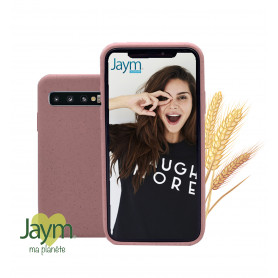 COQUE ECO-FRIENDLY ROSE POUR SAMSUNG GALAXY S10 - JAYM®